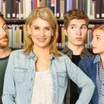 Kristy Swanson e Scott Grimes nel film Una famiglia al college