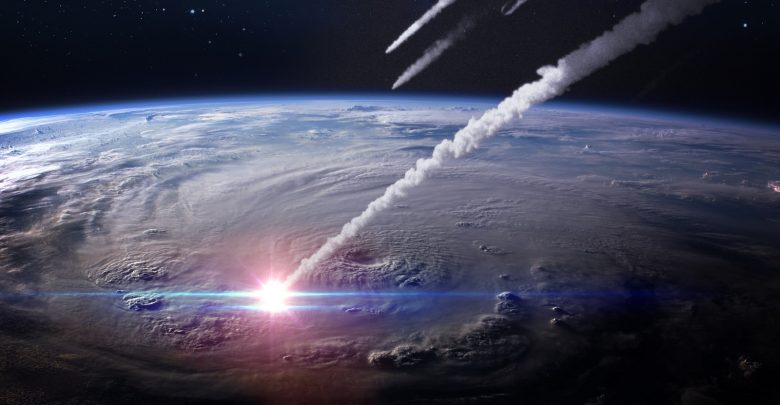 Comet impact (2007)